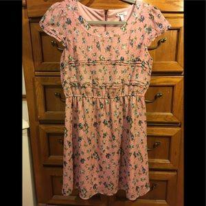 Delia's Pink/purple floral dress